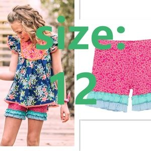 NEW Wildflowers Surfs Up Shorties size 12
